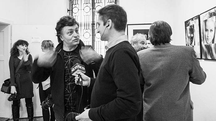 Łukasz Śmiatacz rozmawia z Wacławem Ropieckim, fot. G. Kosmala